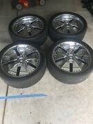24 Inch Chrome Rims For A Chevy Or Nissan Truck Or Suv