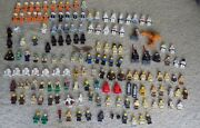 Huge Lot Of 151 Star Wars Lego Minifigs Figs Minifigures