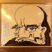 Takashi Murakami Poster With Autograph And Frame Ed 39/300 From Japan F/s