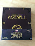 Marvel Legends Book Of Vishanti Sdcc Box Only +eye Of Agamotto No Figures Read