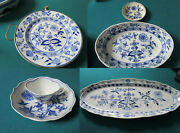 Meissen Blue Onion Warming Plate Tray Dish Cup Saucer Original Pick One
