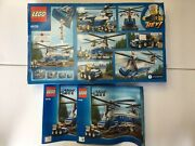 Lego Empty Box Only With Manuals 4439 Heavy-lift City 2012 No Bricks See Listing