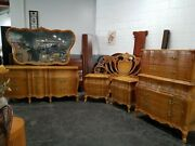 Carmel Colored Bedroom Set French Provincial Style | Union Furniture Companyandnbsp
