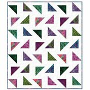 Triangle Tango Kit90and039and039x108and039and039and039and039pattern/fabric For Top/binding From Missouri Sta