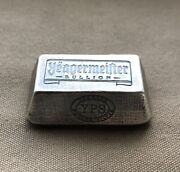 3oz Yeagermeister Bullion Truncated Pyramid By Yeagerand039s Poured Silver - 999+