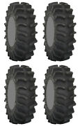 Four 4 System 3 Xm310 Atv Tires Set 2 Front 28x9.5-14 And 2 Rear 28x9.5-14