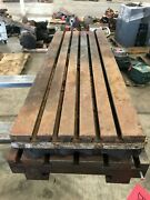 45 X 16 X 3 Steel Welding T-slotted Table 5 Slot Layout Table