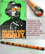 Nitf ☆ Nike Bo Jackson Poster ☆ You Don't Know Diddley. ☆ Old Stock W/ Label