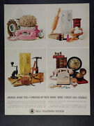 1963 Bell Telephone Princess Wall And Desk Phones Vintage Print Ad