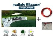 Buffalo Blizzard Supreme Above Ground Swimming Pool Winter Covers - 12 Year Wty