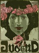 Decoration Poster.wall Art.home Room Design.jugend.youth Mag Cover.roses.9405