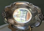 International Silver Company 448 Silver-plate Candy Dish