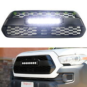 Oem-repace Trd Style 80w Cree Led Light Bar Grille Kit For 2016-up Toyota Tacoma