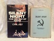 Cyril Joly, Silent Night - Uncorrected Proof And Book 1980, George Locke, Cold War