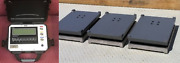 Heavy Duty Airplane Scale Three Pads 6000 Lb Aircraft Wheel Scale Faa Approved