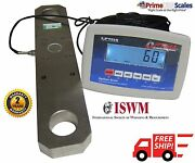 Heavy Duty Crane Scale 100000 X 20 Lb Hanging Scale Tension Link Scale Op-927