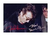 John Lennon And Mark Chapman A4 Reproduction Autograph Poster Choice Of Frame.