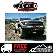 Add Race Series Front Bumper No Side Panels Black For 2010-2014 Ford F150 Raptor