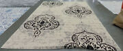 Crem / Black 8and039 X 11and039 Damage Binding Rug Reduced Price 1172566461 Cy7926-16a22-8