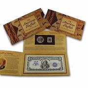 2001-d The American Buffalo Coin And Currency Bep Set Stamp