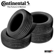4 X New Continental Crosscontact Lx Sport 275/45r21 107h Touring All-season Tire
