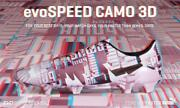 Evospeed Camo 3d Soccer Shoes Size Us 10.5 World Limited Edition Used F/s