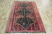 Old South West Persian Rug With Triple Medallions 194 X 132 Cm