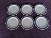 Royal Doulton British Airways Bread And Butter Plates Ec 1073 Set Of 6
