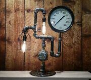 Steampunk Commercial Age Lamp Old Fashioned Lamps Made By Hand L-251