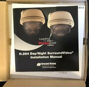 Arecont Vision Av8365dn 8mp H.264 Day/night 360 Panorami Ip Dome Camera New
