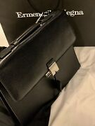 2,395  Leather Business Bag Brief Case Nwt