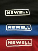 Newell Reels Shirt Based On 1968 Design- Sizes L To 3xl Vintage Oldschool