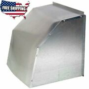 Weather Hood Cover 10 12 16 20 24 30 36 Inch Wall Exhaust Fan Shutter Fans Cover
