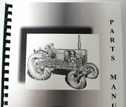 Allis Chalmers B-110 Lawn And Garden Parts Manual