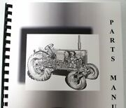 Allis Chalmers 620 Lawn And Garden Tractor W/attch Parts Manual