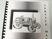 Ford Ford Tractor With Ferguson System Model 9n And 2n Service Manual