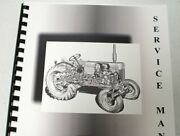 International Farmall 10-20 Trac -tractor Clutches Only Service Manual