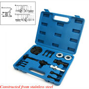 Suitcase Car Air Conditioning Compressor Clutch Disassembly Kit Repair Tool