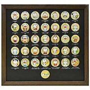 Doramemon 35th Anniversary Medal Set With Frame Genuine Free Shipping From Japan