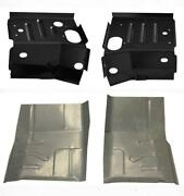 1980-96 Ford Cab Floor Pan And Cab Mount Floor Support Kit Ford Pickup And Bronco