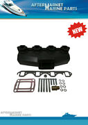 Exhaust Manifold For Volvo And Omc 5.0 5.8l Ford Based Engines Repalces 3852347