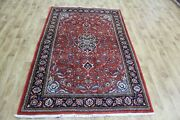 A Good Example Of A Persian Sarouk Rug With Floral Design 207 X 132 Cm