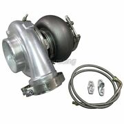 Gt45 Gt45r Ball Bearing Turbo Charger 80mm T4 1.15ar + Oil + Flange 900 Hp
