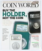 Coin World Magazine April 2019 Buy The Holder Not The Coin 1955-s Roosevelt Dime