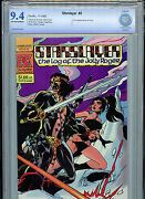 Starslayer Issue 5 Cbcs 9.4 Nm 1983 Pacific First Comic 2nd Groo Amricons B13