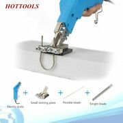 Air-cooled Electric Hot Knife Foam Cutter Carving Styrofoam Grooving Slotting