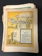 Vtg Watchtower Jehovah's Witnesses Magazine Newspaper Lot Of 12 - 1948