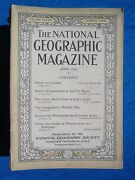 National Geographic Magazine April 1920 Vintage Ads Car Truck Advertising