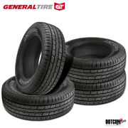 4 X New General Grabber Hts60 255/65r16 109s Highway All-season Tire