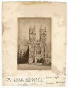 Three Etchings By John Sloan For The Series Of Etchings Entitled Westminster